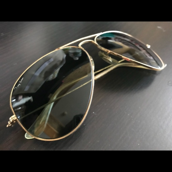 Ray-Ban Other - Authentic Ray Ban Sunglasses, Size 58